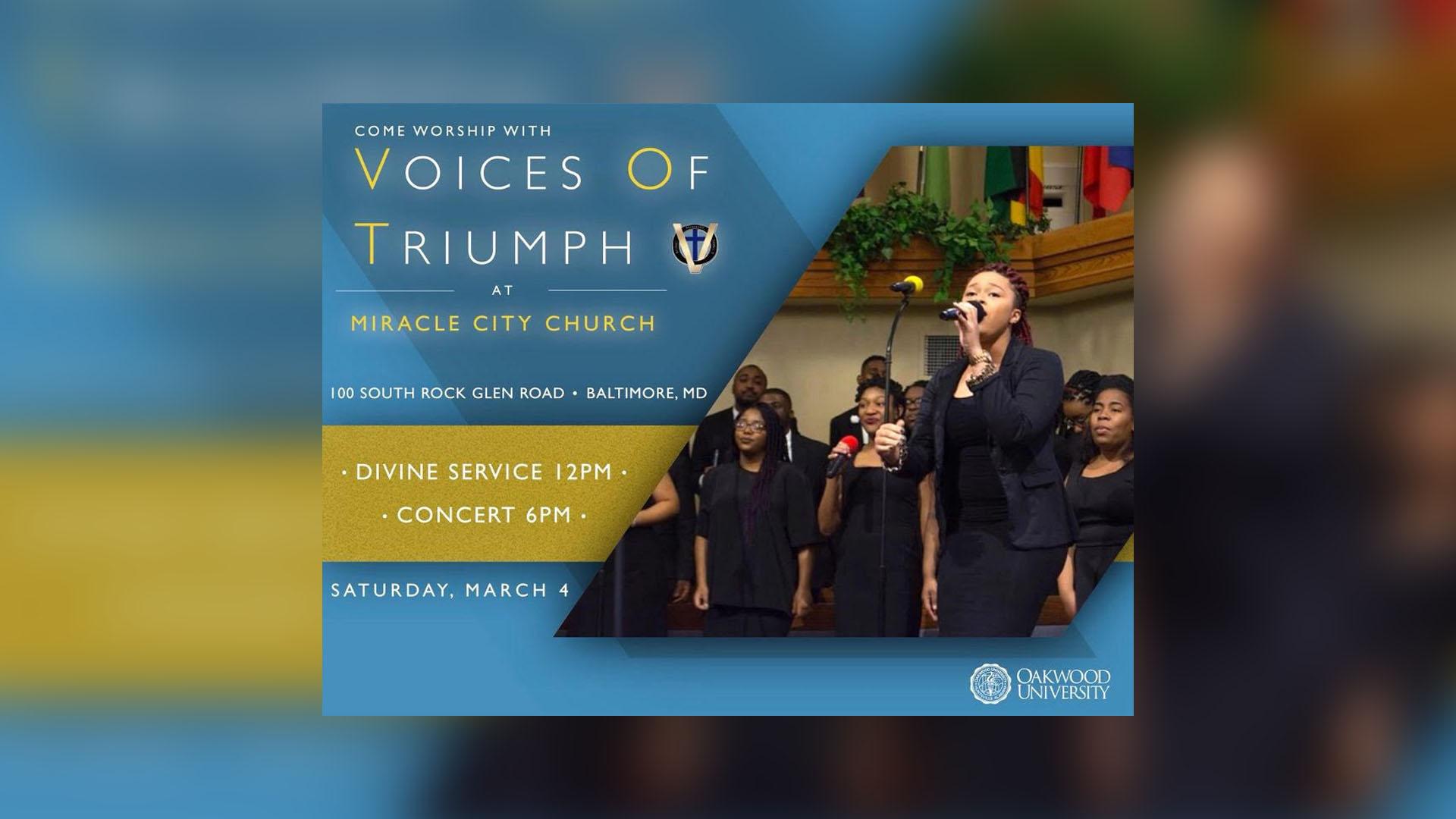 EVENT: V.O.T. Choir