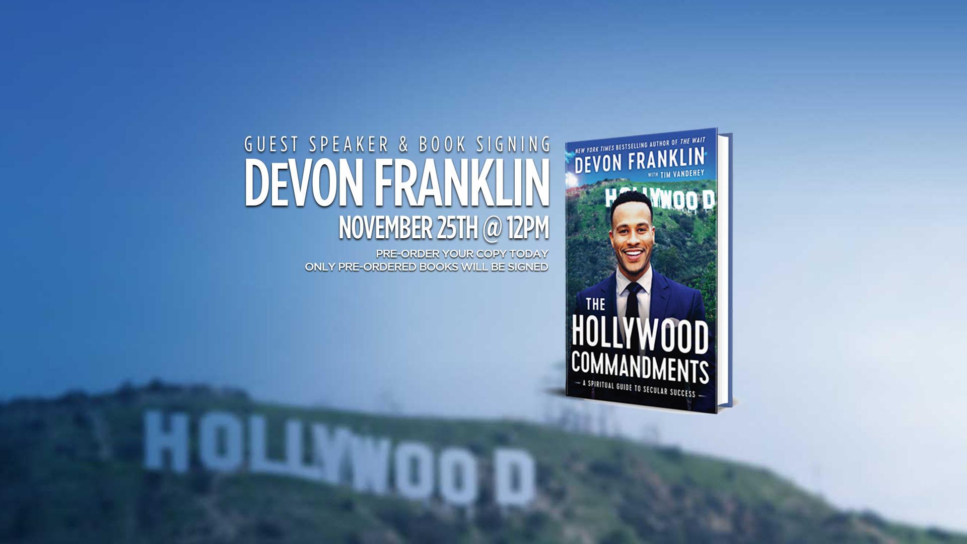 EVENT: Hollywood Commandments