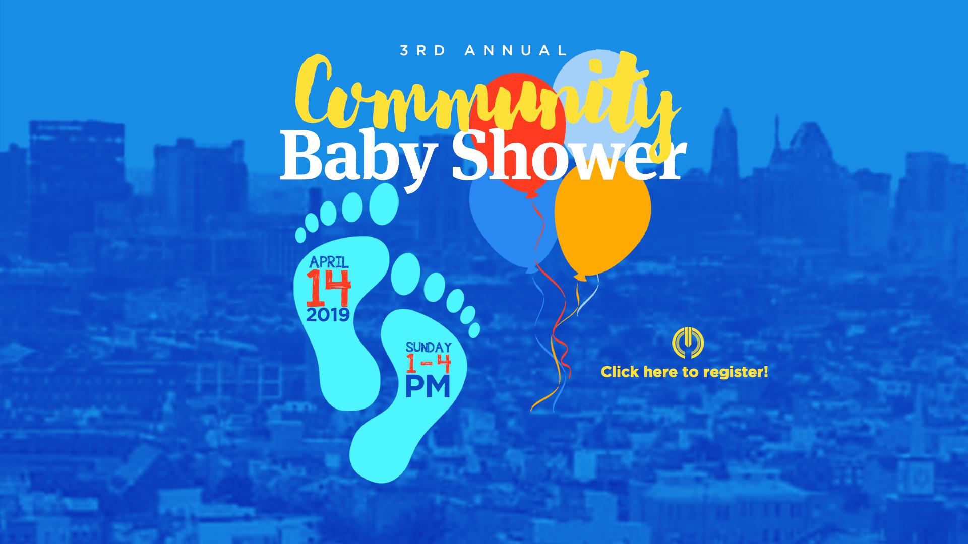 Baby Shower – Web Banner