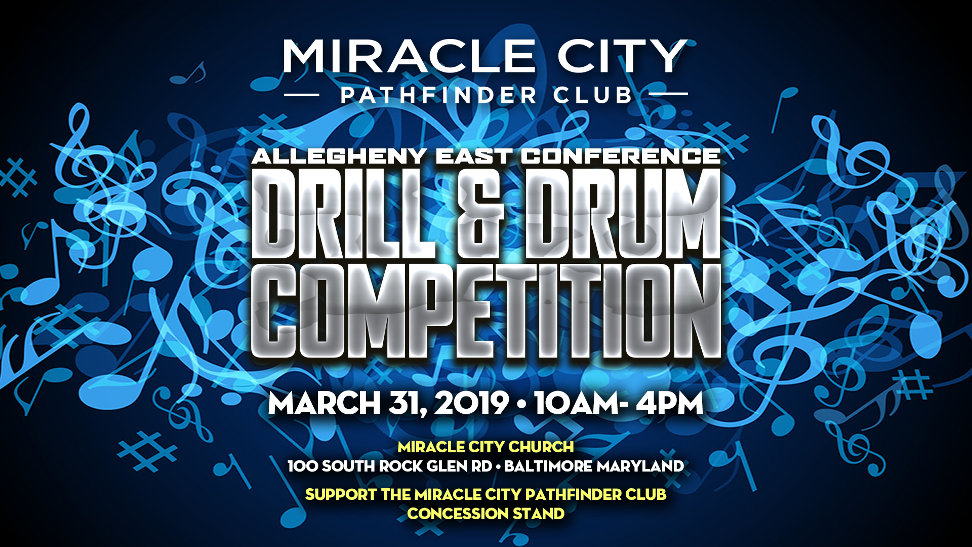 Drum Competition – Web Banner